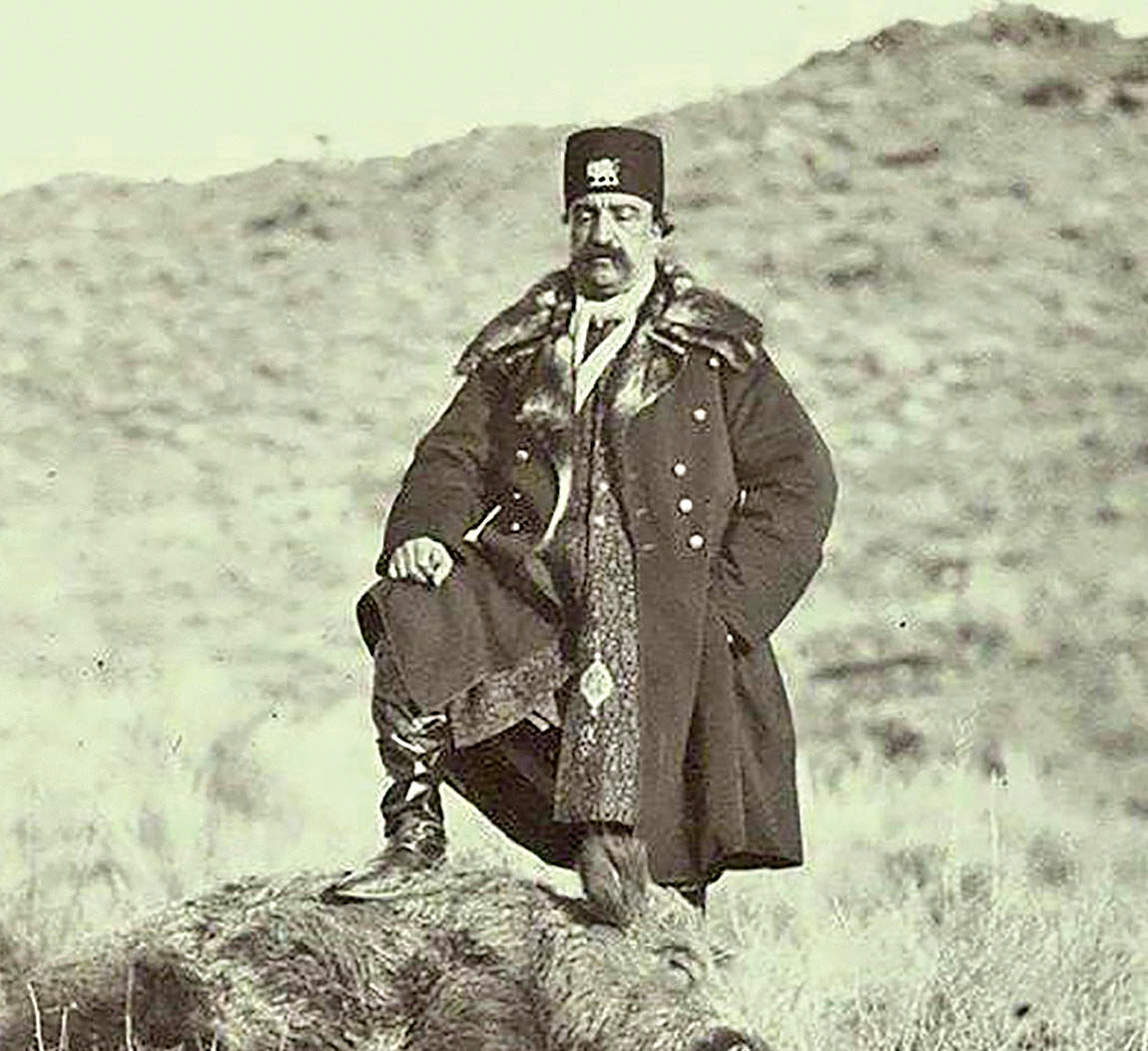 هالهزدایی از تصویرشاه در دوره قاجار