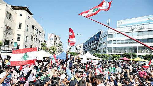 خروج یک حزب مسیحی از دولت حریری
