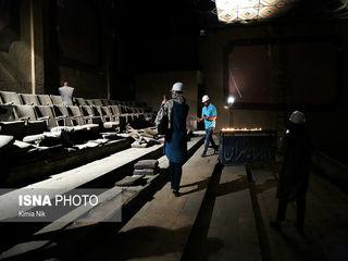 بازگشایی تئاتر نصر