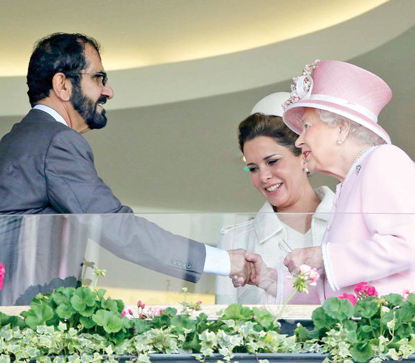 افول قدرت شیخ محمد