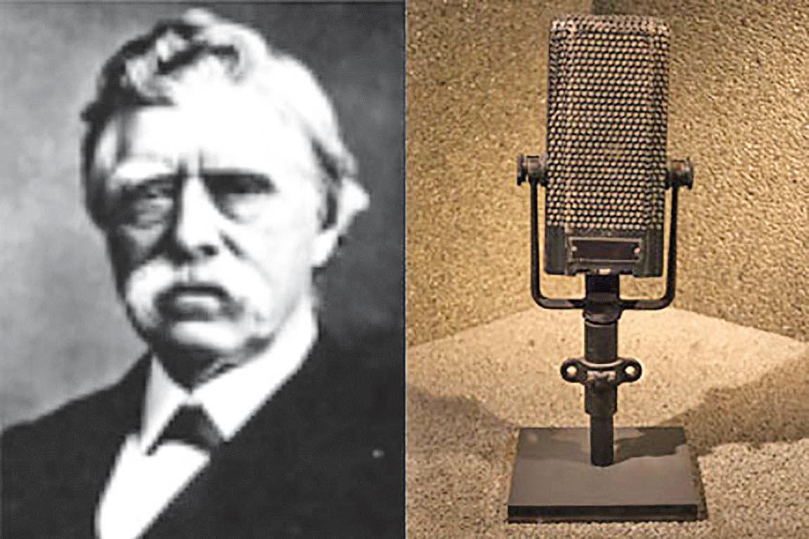 هیوز، مخترع میکروفون کربنی