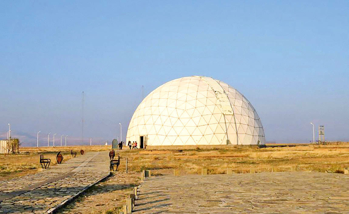 ساخت رصدخانه مراغه