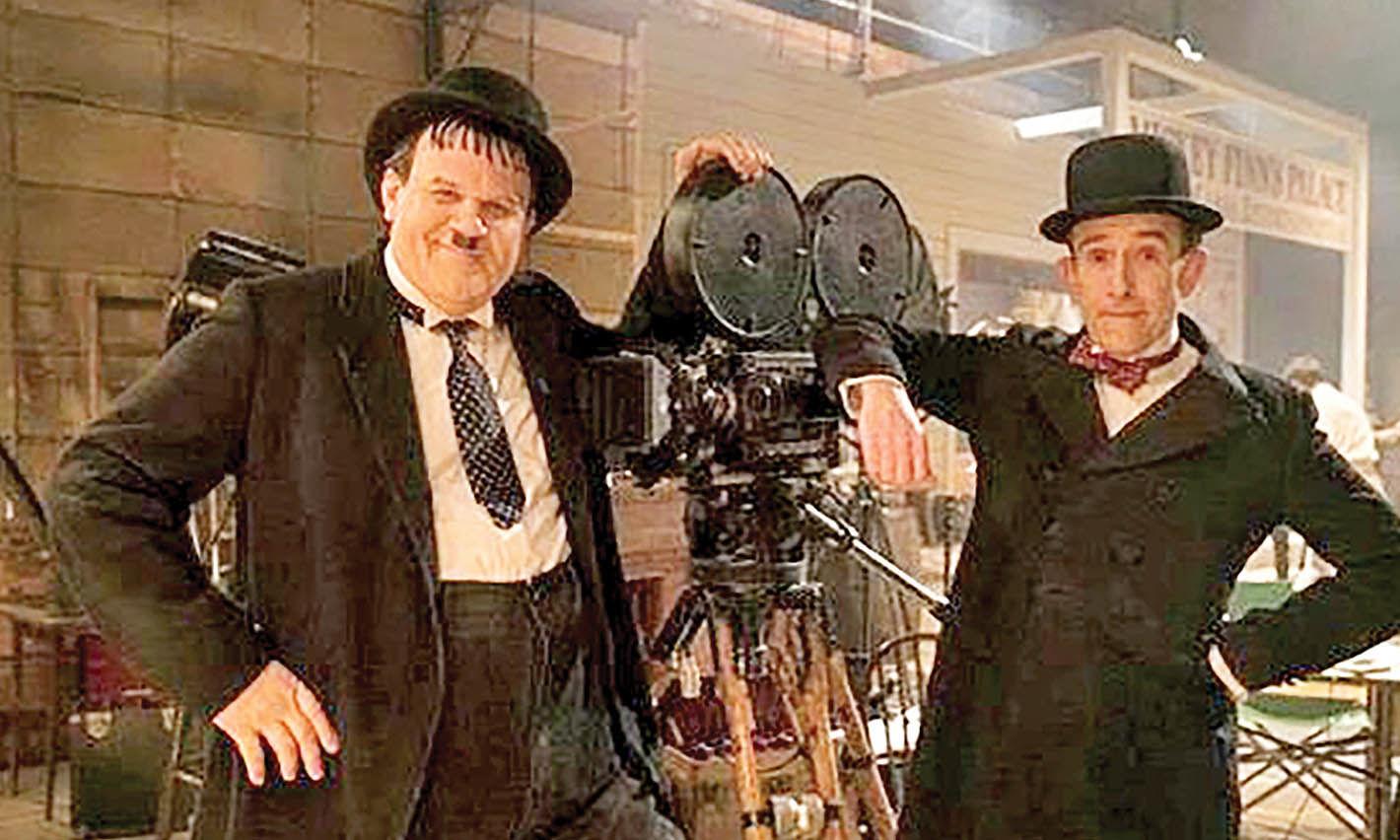 ادای احترام به لورل و هاردی در جشنواره فیلم لندن