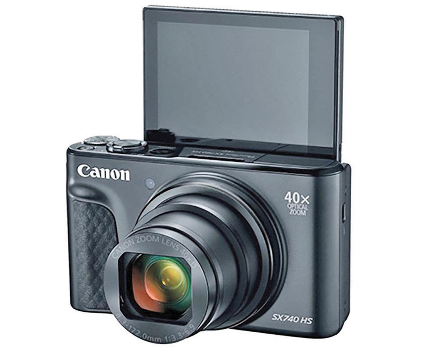 معرفی دوربین کامپکت جدید کانن با زوم ۴۰ برابری