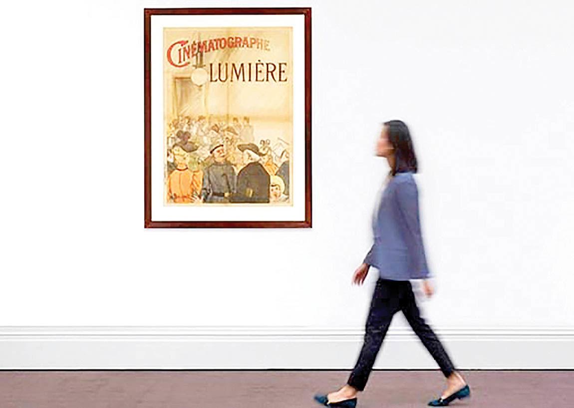 حراج 40هزار پوندی اولین پوستر تاریخ سینما