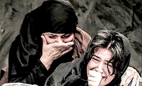 نمایشی در حمایت از کارگران کارخانه قند ورامین