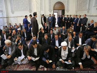 اولین سالگرد شهدای حادثه تروریستی مجلس