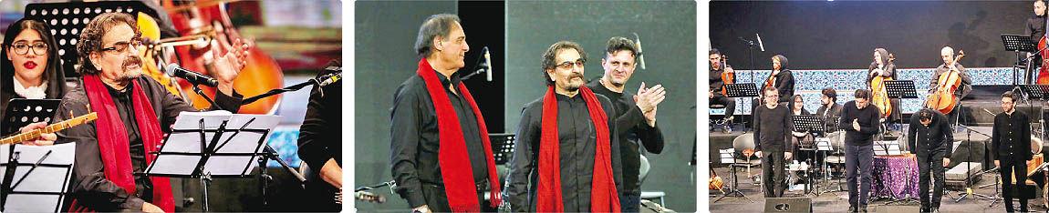 قدردانی شهرام ناظری از تهرانیها در آخرین کنسرت سال