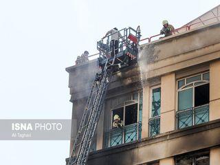 تصاویر جدید از آتشسوزی برج خیابان جردن