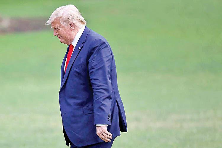 اخطار تحریمی به ترامپ