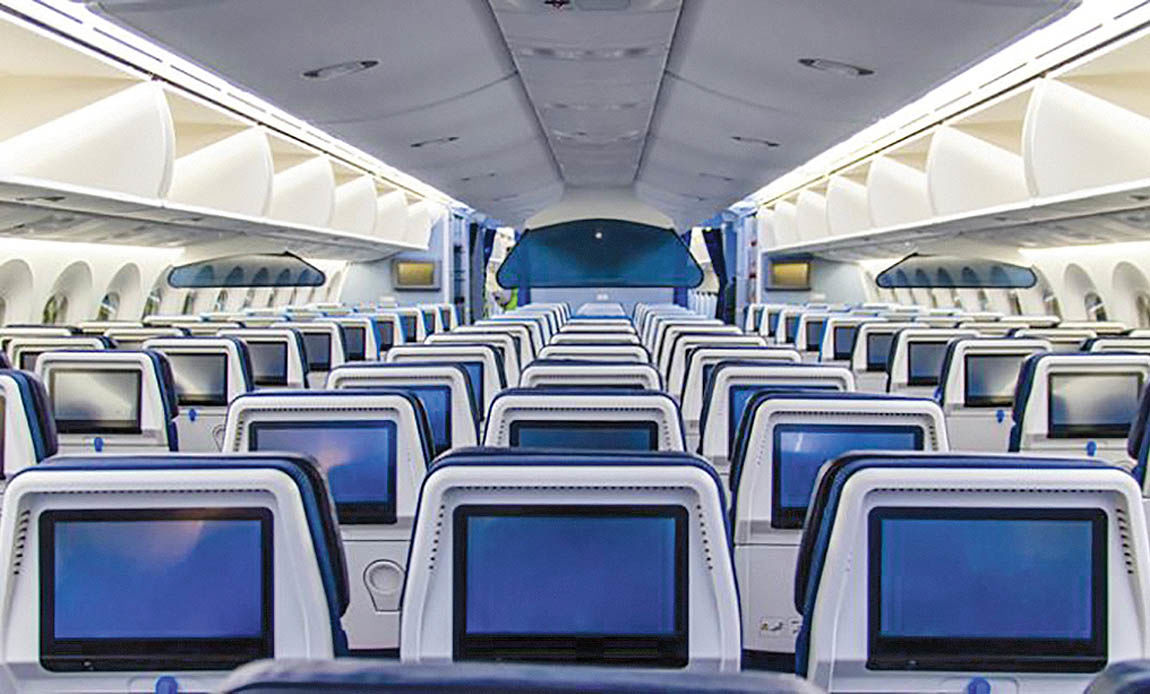تغییر تکنولوژی سرگرمی در خطوط هوایی