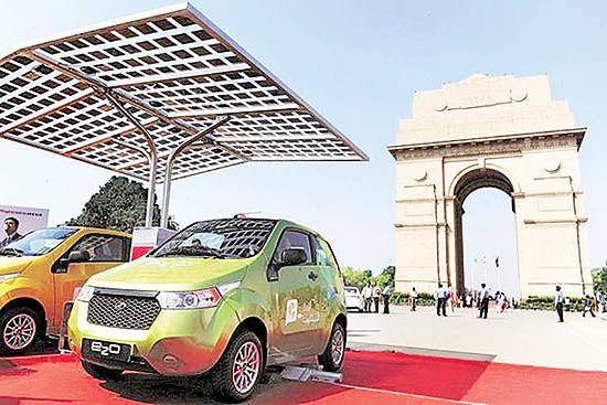 خودروهای برقی هند به آمریکا میروند