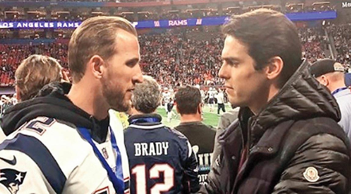 کاکا و هریکین در فوتبال آمریکایی!