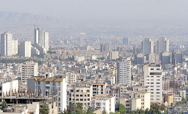تهران پسازلزله در دو تصویر