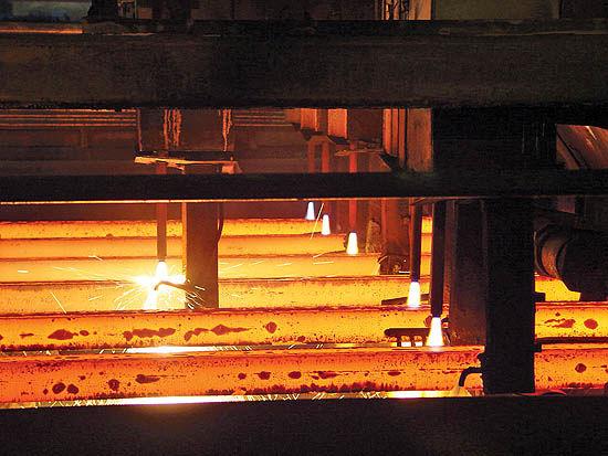 رشد 15 درصدی تولید در فولادمبارکه در سال گذشته
