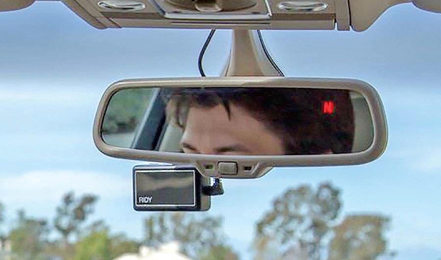 دستگاه هشدار خطر برای رانندگان