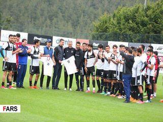 تیم ملی در ترکیه