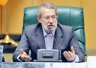 ارزیابی لاریجانی از حمله به نفتکشها