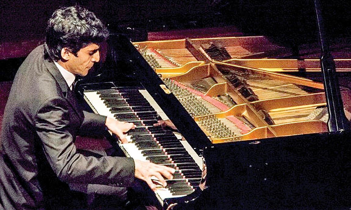 رسیتال پیانو سروش زالی در فرهنگسرای نیاوران