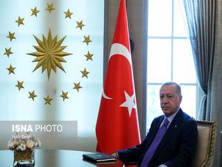 تصاویری از دیدار روحانی با اردوغان
