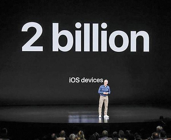 فروش 2/ 1میلیارد دستگاه گوشی آیفون در جهان