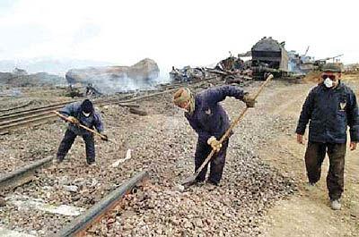 بزرگترین حادثه تاریخ راهآهن ایران