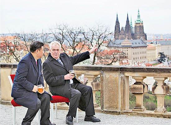 حیاط خلوت چین در اروپا