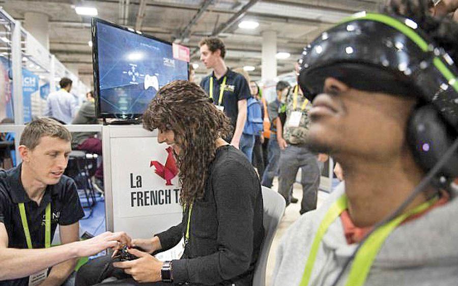 استفاده از واقعیت مجازی در بازیهای ویدئویی
