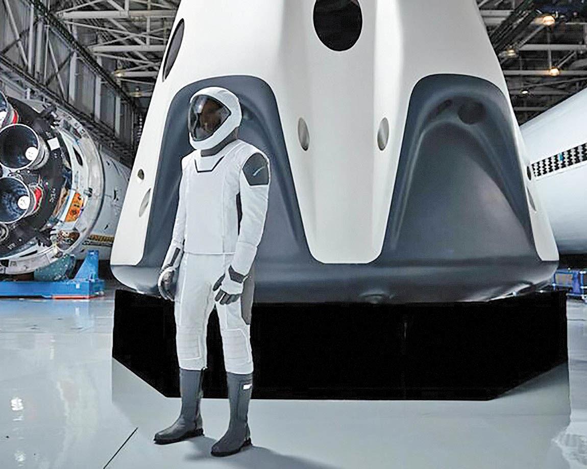 امکان ارسال مانکن به فضا