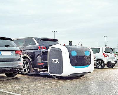 روبات خودرو پارک کن