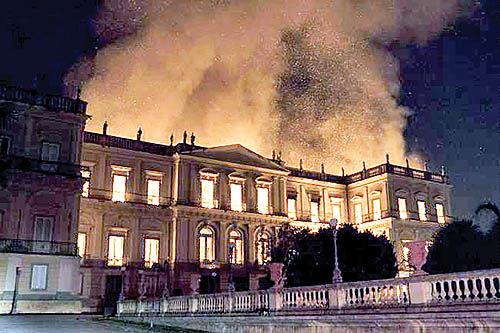 نابودی ۲۰ میلیون اثر تاریخی در برزیل