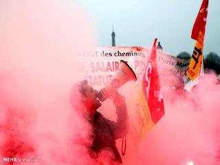 اعتصاب کارکنان راه آهن فرانسه