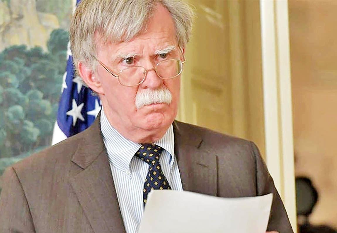 برکناری بولتون به وقت نشست سازمان ملل!