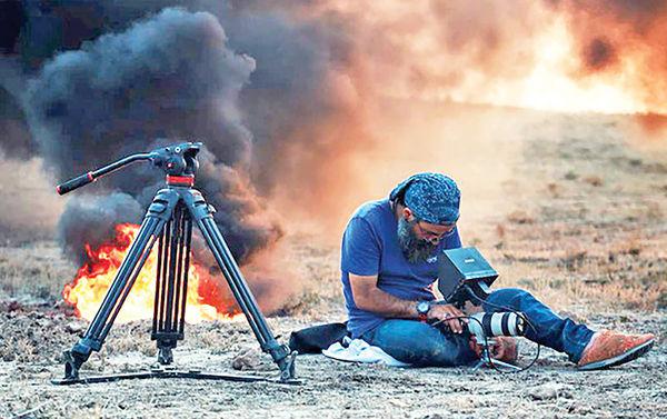 تخریب دکورهای فیلم ضد داعش از سوی گروهی ناشناس