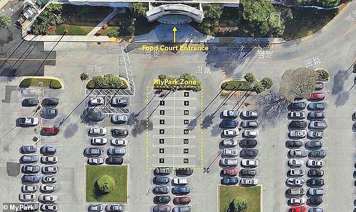 اپلیکیشن رزرو  جای پارک