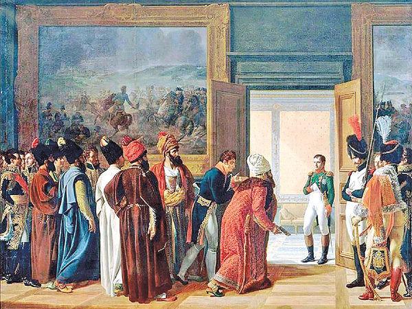 ورود هیات فرانسوی به اصفهان عهد شاهعباس دوم
