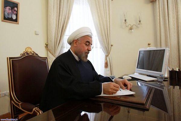 نامه قدردانی رئیس جمهور از رهبر معظم انقلاب