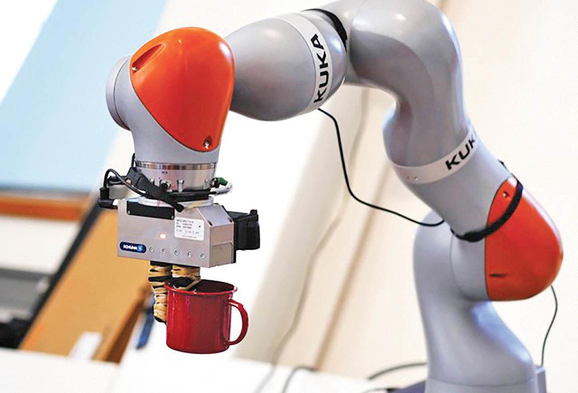 روباتی که میتواند اشیا را تشخیص دهد