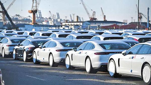 افت نسبی صادرات خودروی چین
