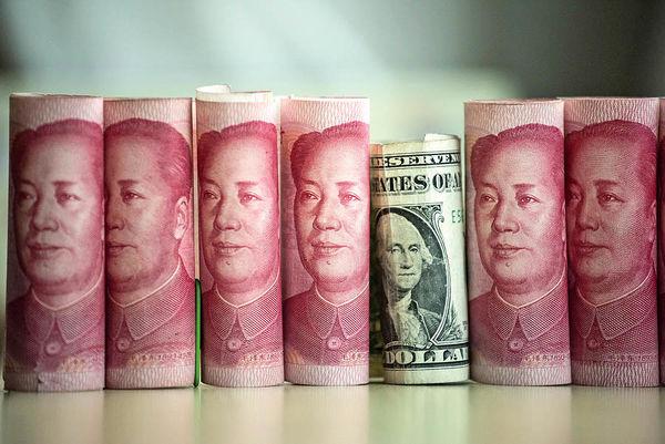 رئیس بانک مرکزی چین به نزول یوآن از خط قرمز 10 ساله چراغ سبز نشان داد قعرنشینی تعمدی یوآن