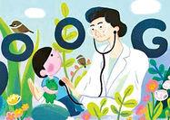 به مناسبت زادروز پزشک فیلیپینی لوگوی گوگل تغییر کرد