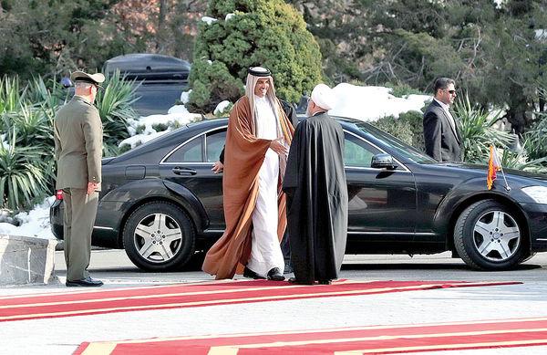 سفر غیرمنتظره امیر قطر به ایران
