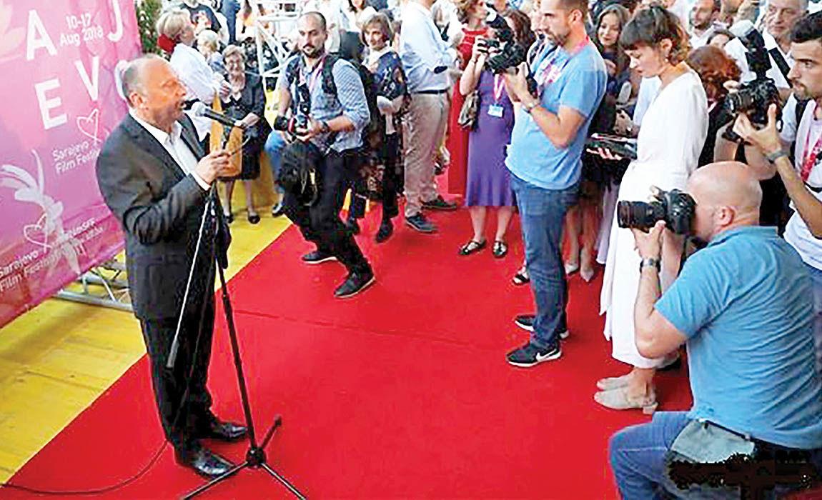 افتتاح جشنواره فیلم سارایوو با حضور اصغر فرهادی