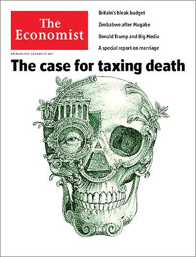 نفرت از «مالیات مرگ»