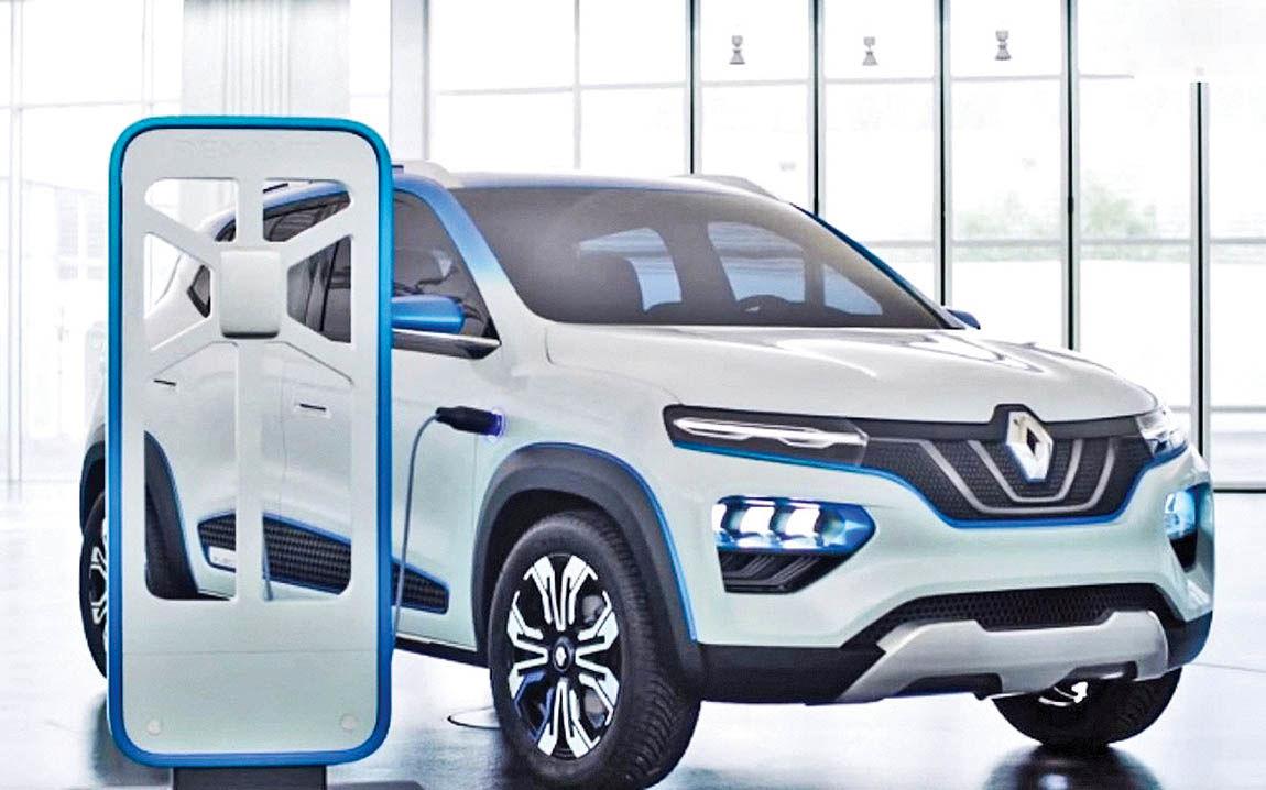نخستین خودروی برقی رنو برای چین