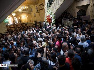 مراسم ترحیم «ناصر ملک مطیعی»