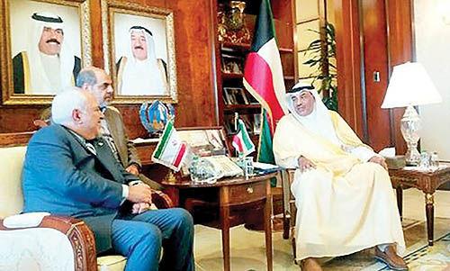 محور مذاکرات محمد جواد ظریف با مقامات کویت